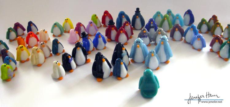 penguin nuptials