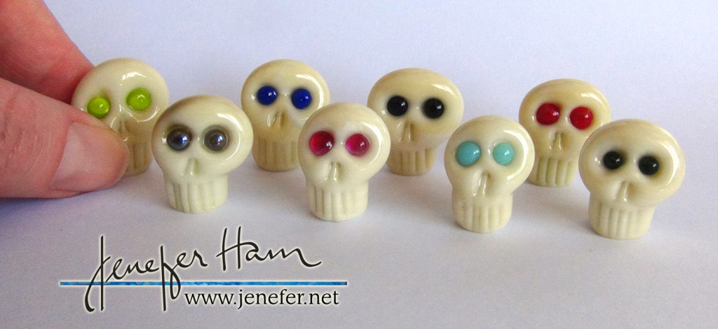 ARR! Skulls by Jenefer Ham