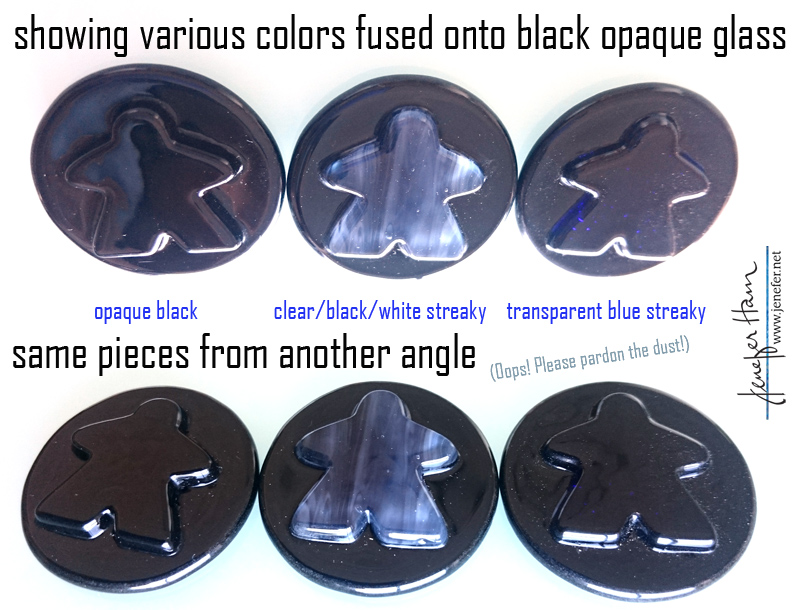 blue-on-black-meeples by Jenefer Ham