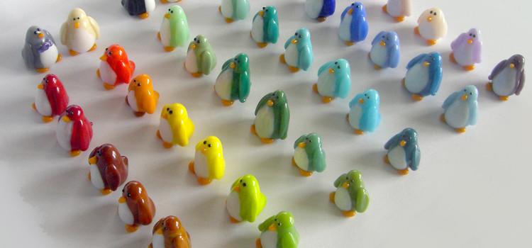 we're having a penguin parade!