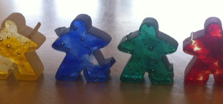 Meeples of glass!