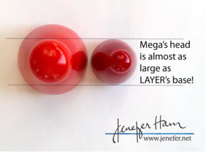 mega marker by Jenefer Ham